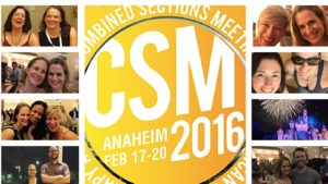 Reflections on CSM 2016!