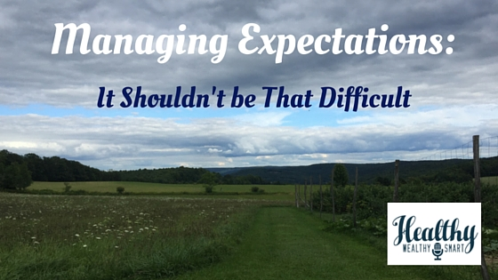 Managing Expectations_