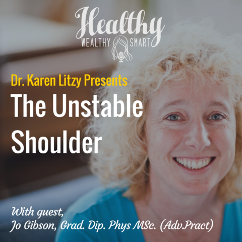286: Jo Gibson, PT: The Unstable Shoulder