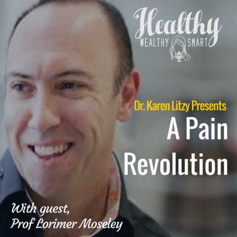 287: Prof. Lorimer Moseley: The Pain Revolution