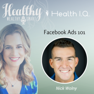 322: Nick Wolny: Facebook Ads 101