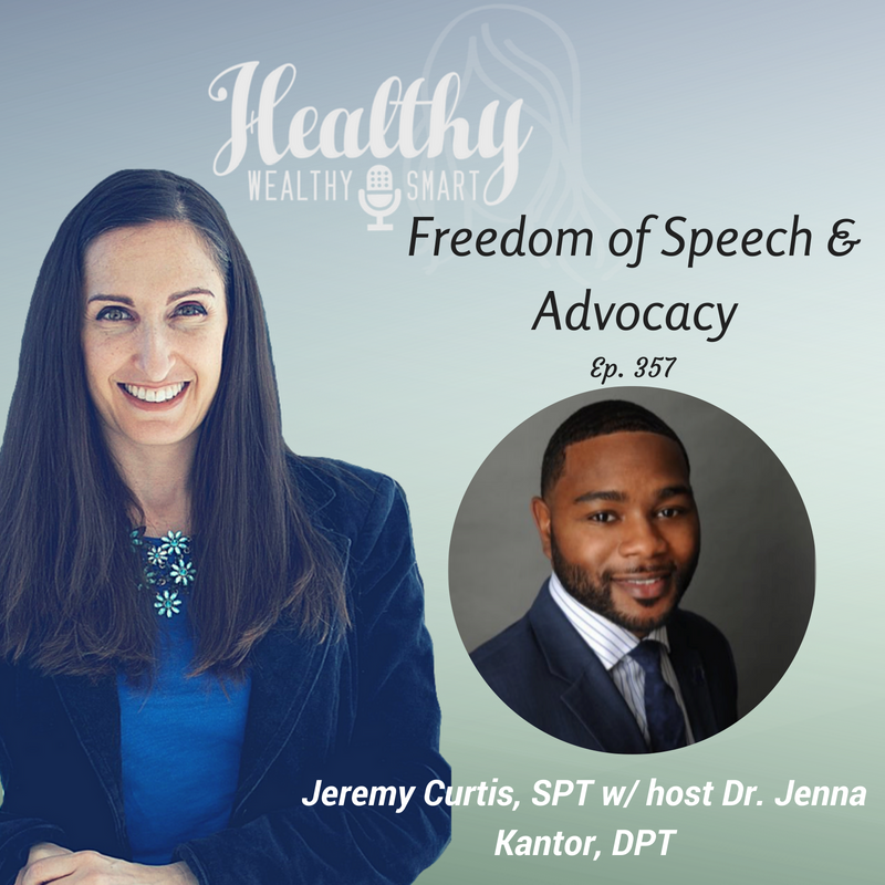 357: Jeremy Curtis, SPT: Freedom of Speech & Advocacy
