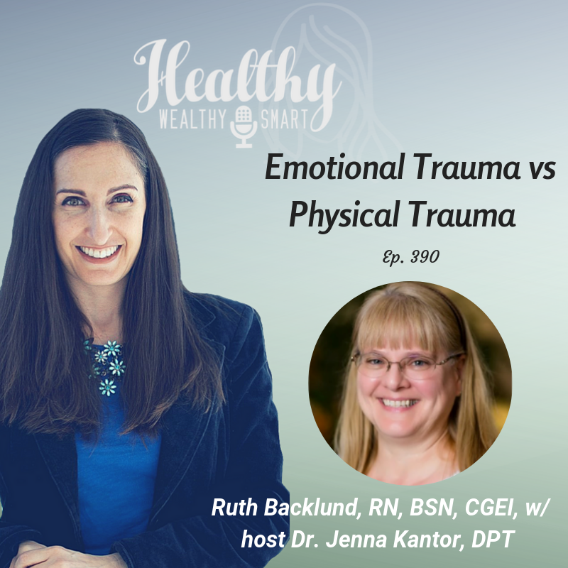 390: Ruth Backlund, RN: Emotional Trauma vs Physical Trauma