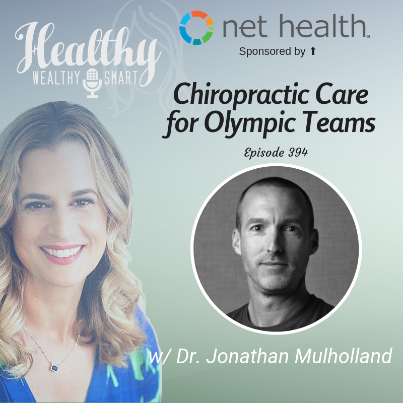 394: Dr. Jon Mulholland: Chiropractic Care at the Olympics