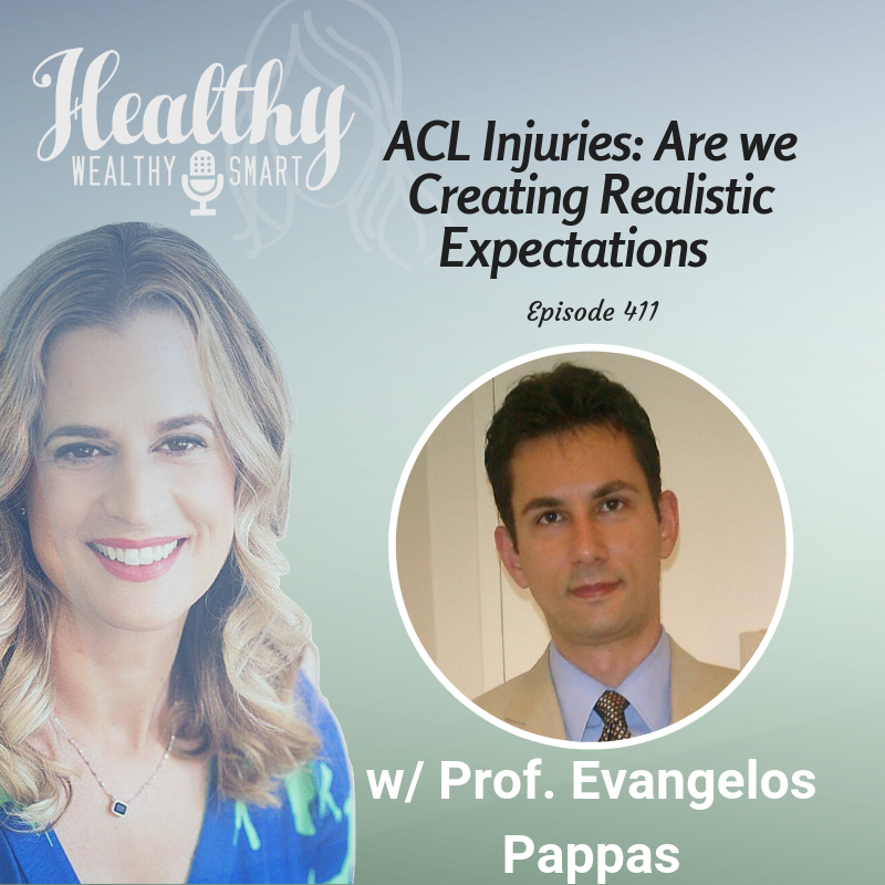 411: Prof. Evangelos Pappas: ACL Injuries, Are We Creating Realistic Expectations