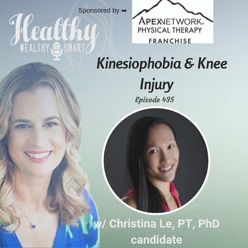 435: Christina Le, PT: Kinesiophobia & Knee Injury