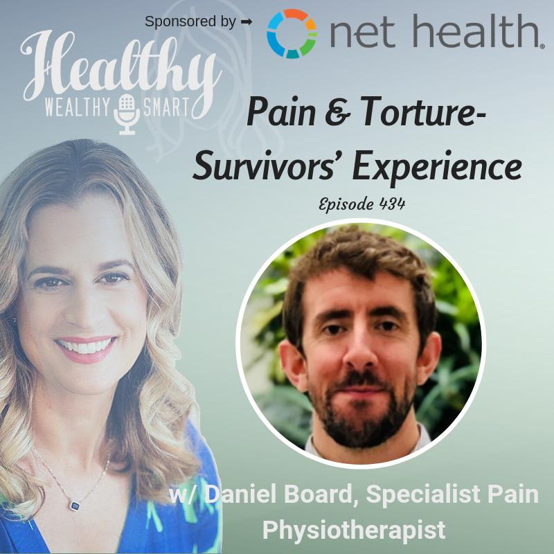 434: Daniel Board, PT: Pain & Torture Survivors' Experience