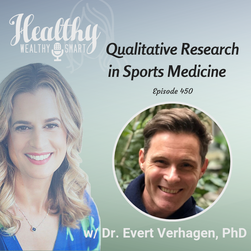 450: Prof. Evert Verhagen: Qualitative Research in Sports Medicine