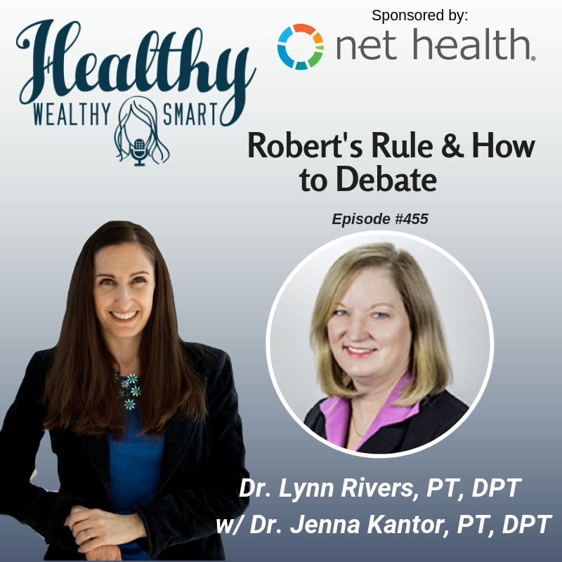 455: Dr. Lynn Rivers: Robert's Rule & How to Debate