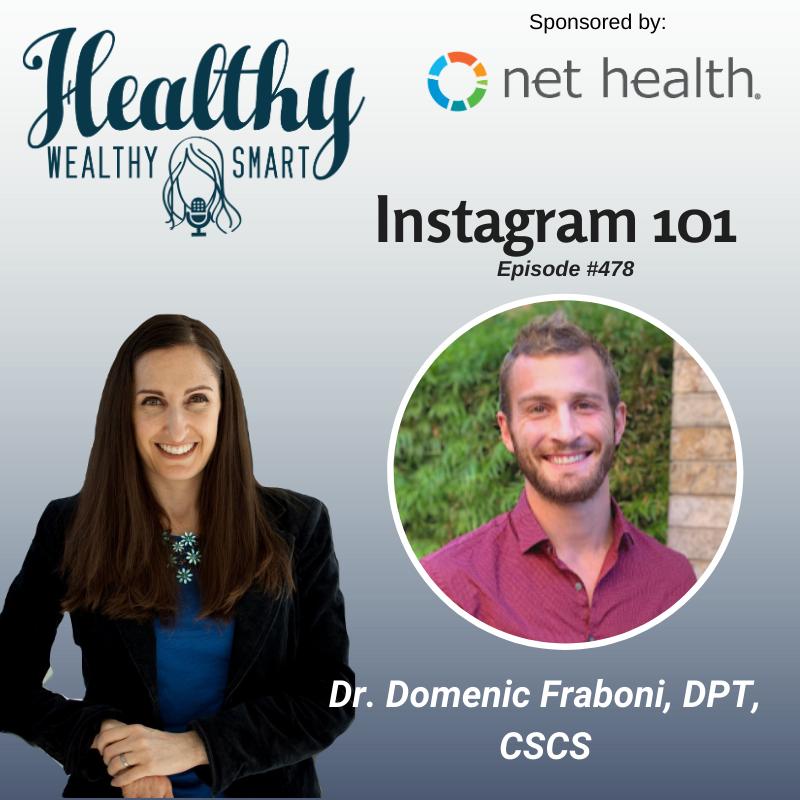 478: Dr. Domenic Fraboni: Instagram 101