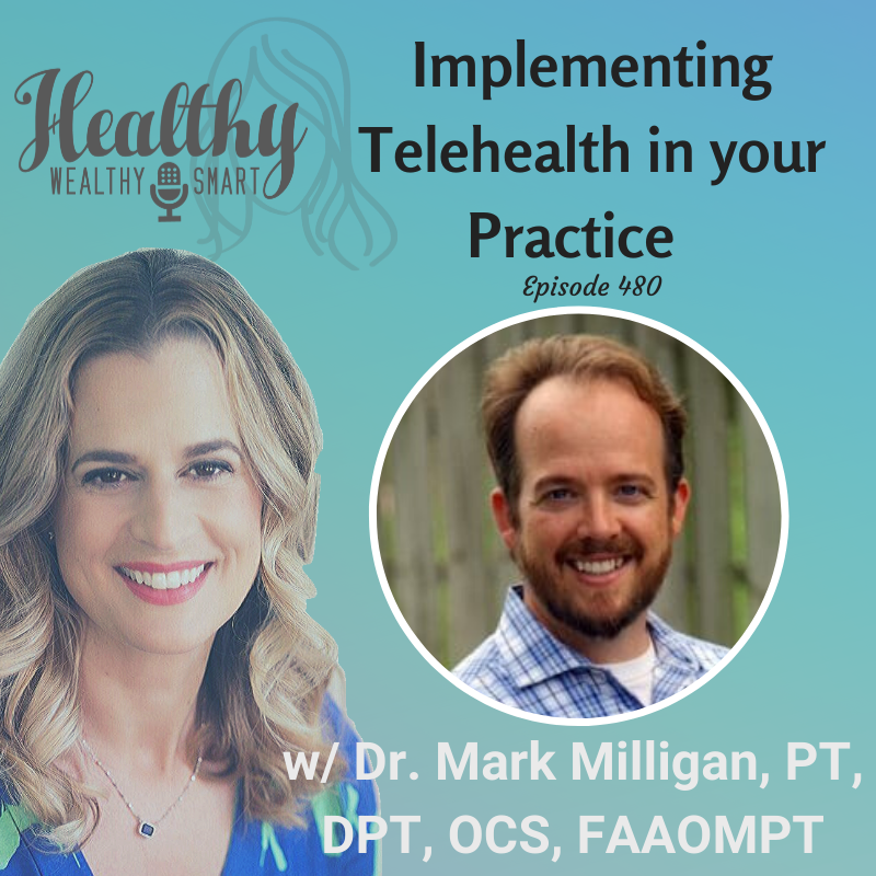 480: Dr. Mark Milligan: Implementing Telehealth in Your Practice