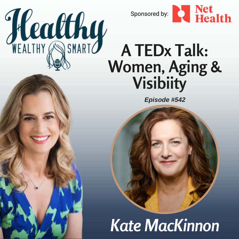 542: Kate MacKinnon: A TEDx Talk: Women, Aging and Visibility