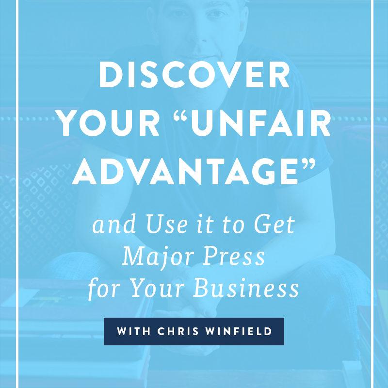 The Unfair Advantage: Day One (part one)