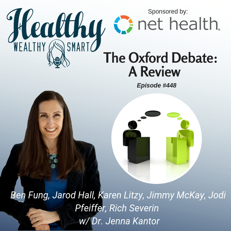 448: The Oxford Debate from APTA Next Conference - Healthy