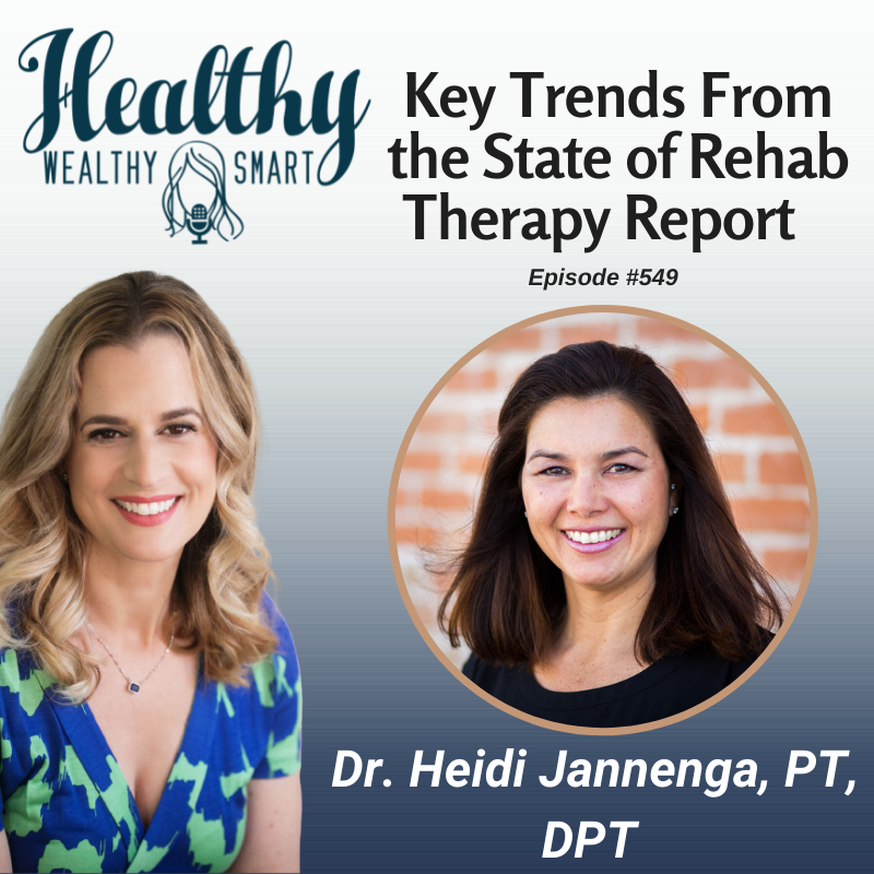 549: Dr. Heidi Jannenga: Key Findings from the State of Rehab Therapy Report